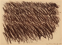 untitled] (bastian 33) by cy twombly